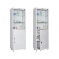 Медицинский шкаф одностворчатый HILFE МД 1 1760/SG
