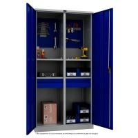 Шкаф инструментальный металлический Практик ТС 1995-120402