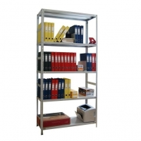 Стеллаж металлический MS Hard 200 кг 5 полок (2500 Х 1000 Х 400)